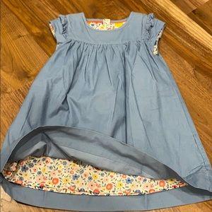 MB pretty cord dress 3-4 like new!